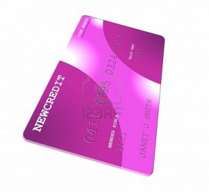 pink redit card